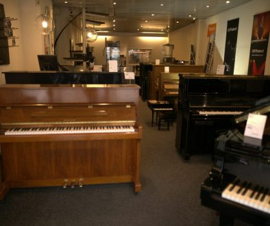 Kick Music Pianowinkel Showroom kleiner
