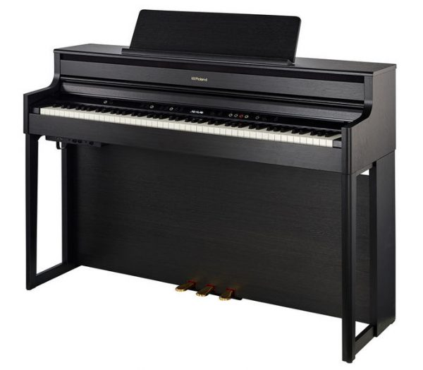 Roland HP702 CH Zwart Mat Digitale Piano